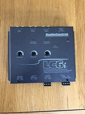 AudioControl 6 Channel Speaker Level to RCA Converter High to Low Adapter LC6i