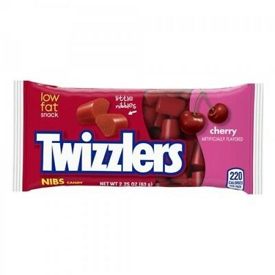 Twizzlers Nibs Cherry 63g USA Candy Extra items get free postage Twizzler
