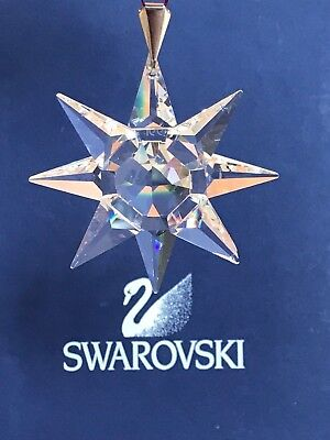 SWAROVSKI 1991 ORNAMENT in ORIGINAL BOX with CERTIFICATE and SLEEVE
