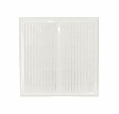 "Air Vent Grille with Fly Screen 450mm x 450mm / 18"" x 18"" Wall Ventilation Cover"