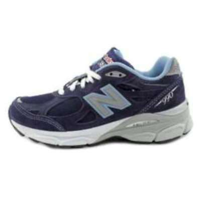 New Balance Womens W990 Running Course Low Top Lace Up Running Sneaker