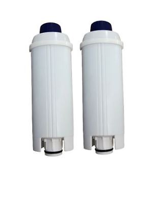 2 X Coffee Machine Water Filter For Delonghi Type DLSC002 SER3017