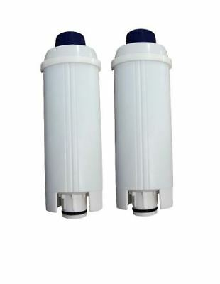 2X Coffee Machine Water Filter For Delonghi EC800 EC820 EC850 BCO400 ECAM Series