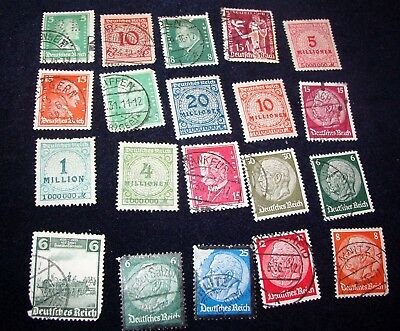 Lot Of 20 Vintage Stamps From Germany(S38)