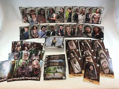 THE WALKING DEAD SEASON 6 Topps 2017 Complete MINI MASTER Card Set w/ CHASE 149