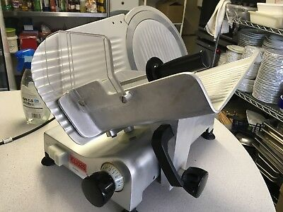 """Commercial Meat Slicer 12"""" Stainless Steel Used"""