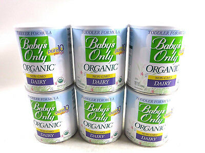 Baby's Only Organic Dairy Formula, 12.7 oz. (PACK OF 6)