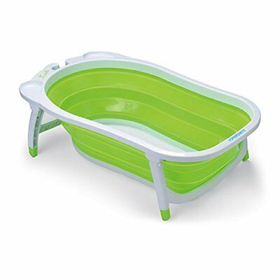 Bathtub for baby Boy Girl foldable portable travel takes poco Space Green