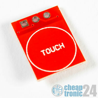 TTP223 kapazitiver Touch Sensor Capacitive Arduino Raspberry Pi 1x-50x