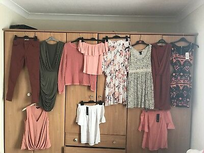 Large Summer Clothes Bundle Size 6/8/10. Dresses, Tops, Jeans, Jackets Some New.