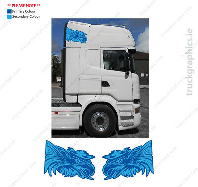 Scania side of cab Griffin 3 Badge Lorry Emblem Sticker