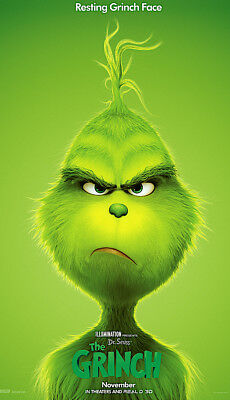The Grinch-(2018) 27X40 (Ds) Movie Poster-Benedict Cumberbatch-Final