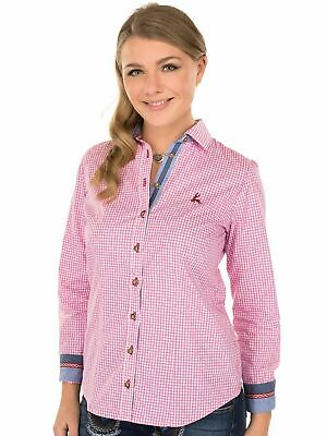Orbis Traditional Costume Blouse Terry Long Sleeve Pink