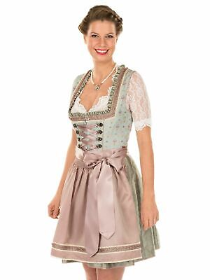 Krüger Dirndl Mini Dirndl 2 Parts Symphonie Light Green 50cm