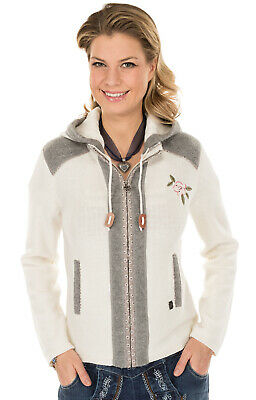Spieth & Wensky Traditional Knitted Jacket Grainets off White