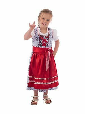 Krüger-dirndl Children's Dirndl 3 Piece Incl. Blouse 41481-8 Blue