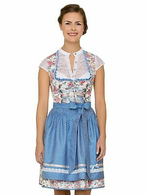 Stockerpoint Mini Dirndl 2tlg. 50 cm Saskia Flower Light Blue