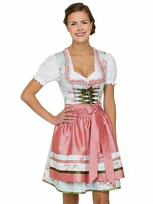 Stockerpoint Mini Dirndl 2tlg. 50 cm Lara Light Blue Rose