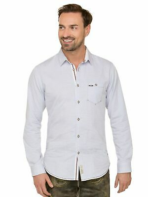 Stockerpoint Traditional Shirt Long Sleeve Modern Fit Drake Light