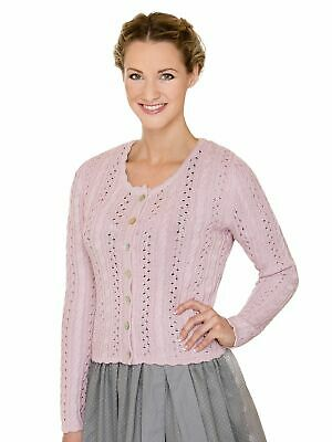 Stockerpoint Traditional Knitted Jacket Liz2 Rose