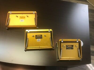 """Tapetech Maxx Flat Boxes 7"""" 10"""" and 12"""" new"""