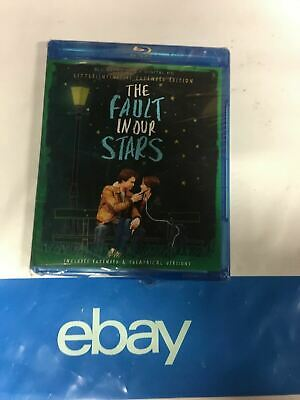 The Fault in Our Stars Blu-Ray + DVD + Digital HD brand new