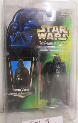 Hasbro Kenner Star Wars Power of the Force COL. 3 DARTH VADER NO HOLO SW2