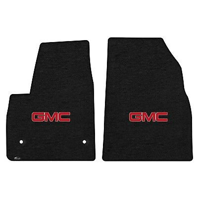 Lloyd Mats GMC Acadia/Denali Logo Ebony Velourtex 2 Pc Mat Set (2017-2018)
