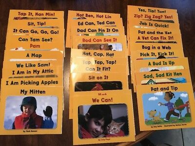 Kindergarten Set of 29 Decodable Readers Macmillan McGraw Hill Treasures Grade K