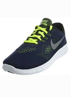 c7cc56489897 BOY`S NIKE FREE Rn (Gs) Athletic Sneakers Size 6Y New  833989 403 ...