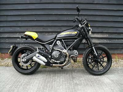 Ducati Scrambler Full Throttle .immaculate ,1293 Miles Only, Ducati Heated Grips