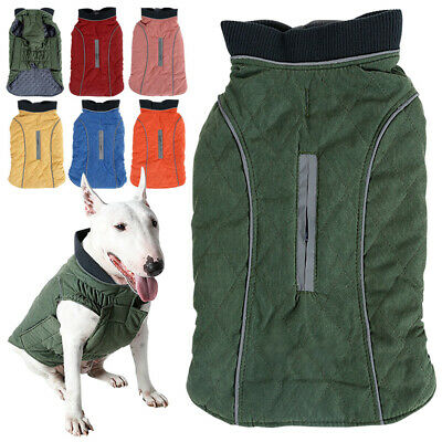 Outdoor Snowproof Windproof Fleece Dog Pet Winter Jacket Coats with Harness hole