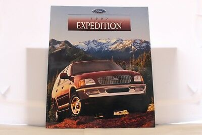 "1997 Ford Expedition Dealer Brochure 9"" x 11"" Mint"