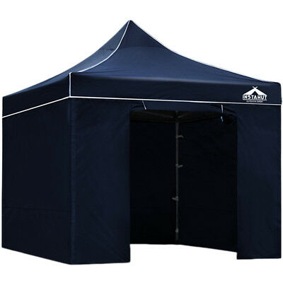 NEW Navy Aluminium Pop Up Gazebo i.Life Outdoor - Accessories