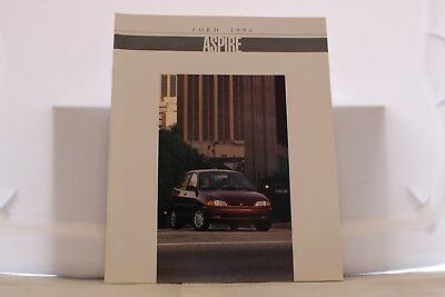 "1994 Ford Aspire Dealer Brochure 9"" x 11"" Mint"