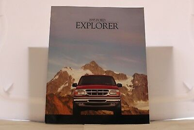 "1995 Ford Explorer Dealer Brochure 9"" x 11"" Mint"