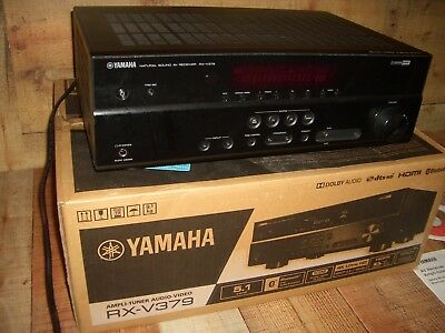 Yamaha RX-V379 5.1-Channel Theater Surround Receiver with Bluetooth- for parts