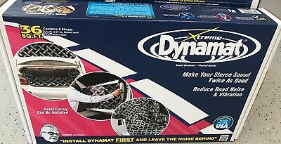 Original brand new Dynamat 10455 Xtreme Bulk Pack 36 SQ FT (9 Sheets) No roller