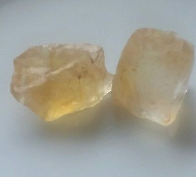 30 CT. Unheated YELLOW CITRINE  ROUGH.NATURAL FROM BRAZIL.