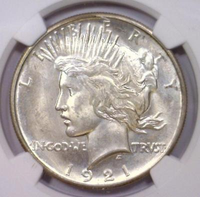 1921 Peace Silver High Relief Dollar NGC MS63 Lot 1189A