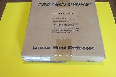 New PROTECTOWIRE PHSC-190-EPN Linear Heat Detector 500' Free Shipping!