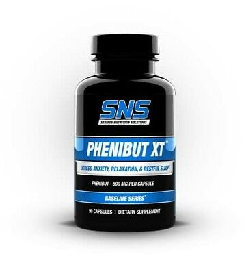 Sns phenibut xt 90 Caps phenibut insomnia Restful Sleep Well being Stress Relax
