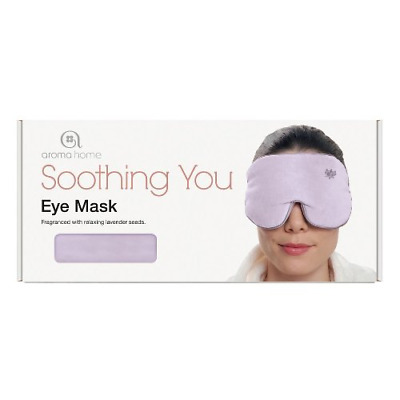 Aroma Home Soothing You Lilac Eye Mask