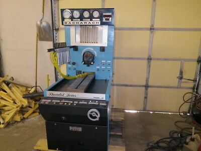 Bacharach Specialist 10 diesel fuel injection pump test stand