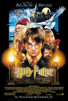 """Harry Potter And The Sorcerer's Stone - Movie Poster 