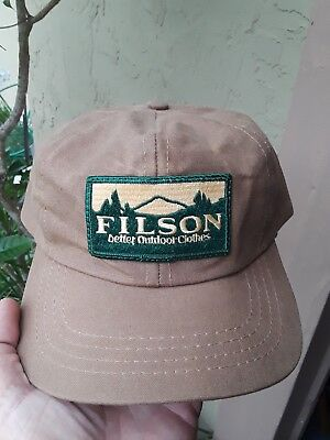 ad30715c94bbd New Wool Cap. Made In USA Rare  125 Filson Brown Bison Fisher Beanie Hat