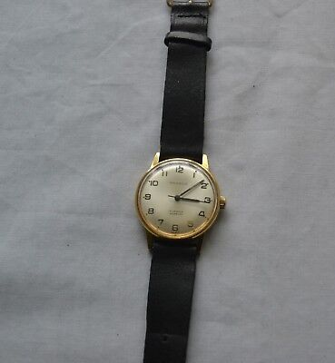 VINTAGE PINNACLE SWISS MADE WATCH 17 JEWELS INCABLOC  MANUAL WORKING 1960's