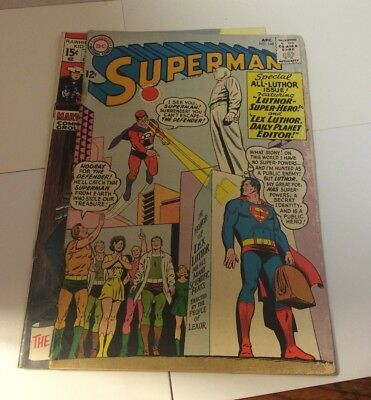 Silver Age Comics Lot Of 3 DC Comics & Marvel Comics