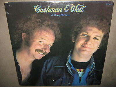 CASHMAN & WEST A Song Or Two RARE SEALED New Vinyl LP 1972 ABC Jeff Skunk Baxter