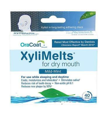 XyliMelts for Dry Mouth - 120 Disc Mailer Box